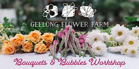 Bouquets & Bubbles Workshop tickets
