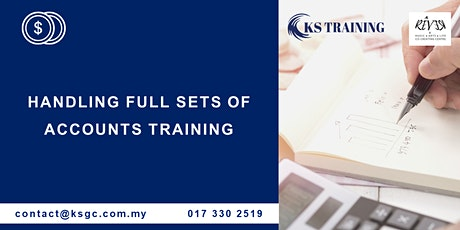 Professional Course on Handling Full Set Account Training [HRDF Claimable] tickets