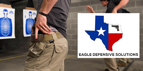 Copy of Texas (LTC) License To Carry Class - Range fees included tickets