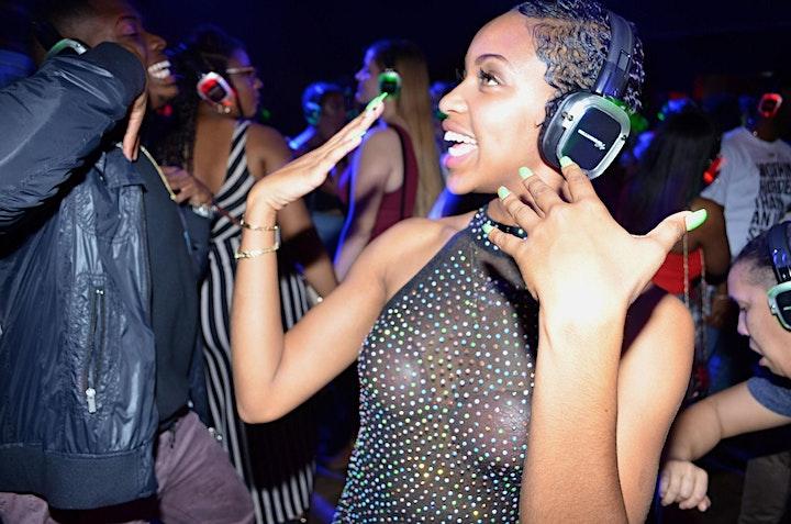 """SILENT PARTY AUSTIN """"HIPHOP vs R&B"""" EDITION image"""