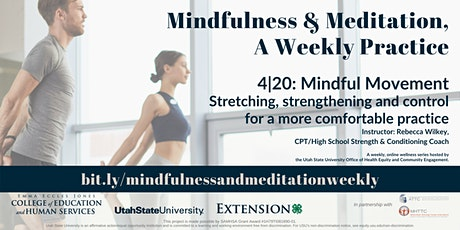 Mindfulness & Meditation, A Weekly Practice tickets