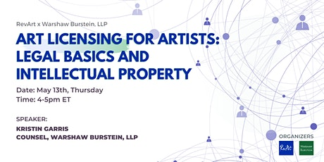 Art Licensing for Artists:  Legal Basics and Intellectual Property tickets