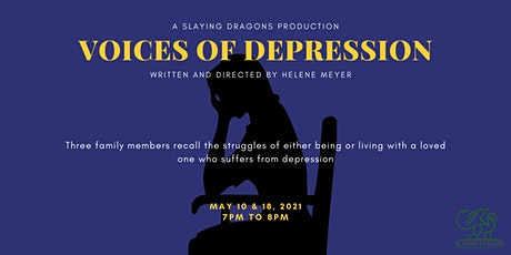 Voices of Depression: Live Zoom Event tickets