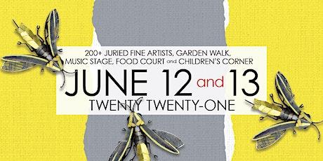 2021 Old Town Art Fair - Saturday June 12, 11 am tickets