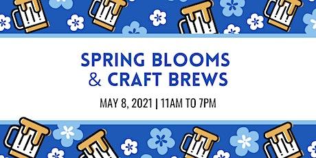 Spring Blooms & Craft Brews tickets