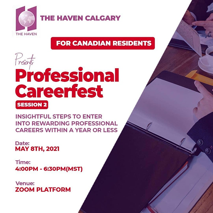 Professional CareerFest (Session 2) image