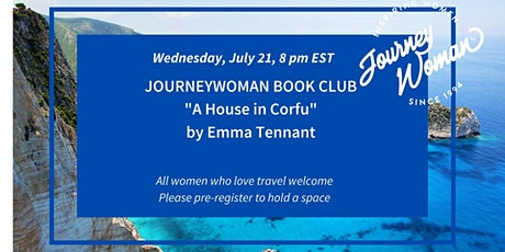 JourneyWoman Book Club: A House in Corfu tickets