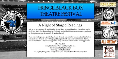 Fringe Black Box Theatre Festival - Staged Reading - May 3rd tickets