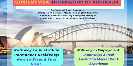 OZ Student Visa Information Session tickets