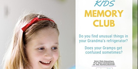 KIDS MEMORY CLUB - Fun with memory friends kindergarten to sixth grade tickets