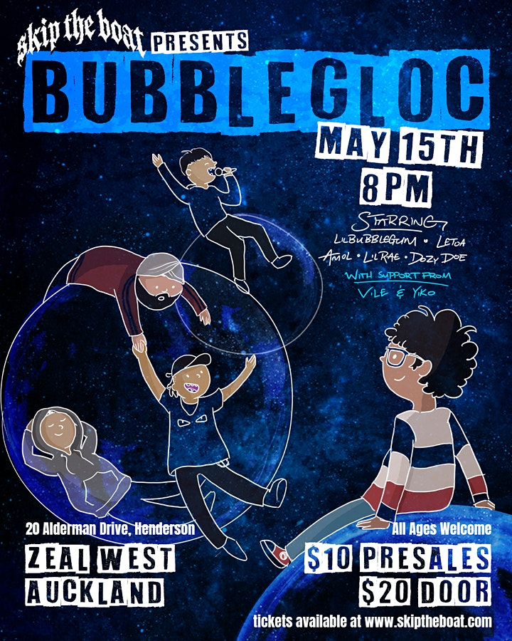 BUBBLEGLOC [ALL AGES] image