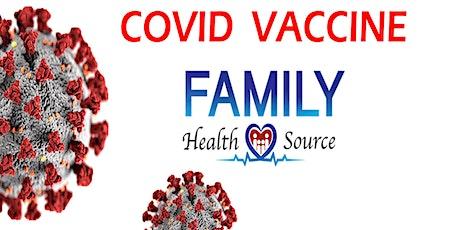 COVID Vaccine April 26 tickets