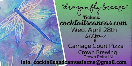 Dragonfly Breeze Painting Event tickets