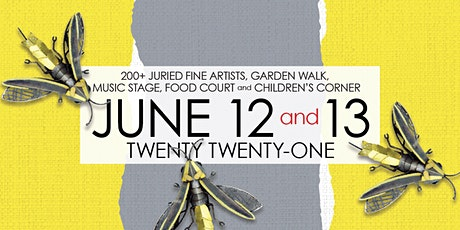 2021 Old Town Art Fair - Sunday June 13, 1 pm tickets
