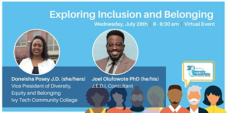 Exploring Inclusion & Belonging tickets