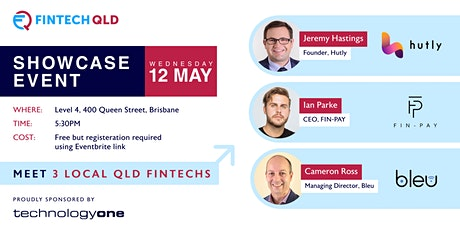 FinTech QLD May Showcase Event tickets