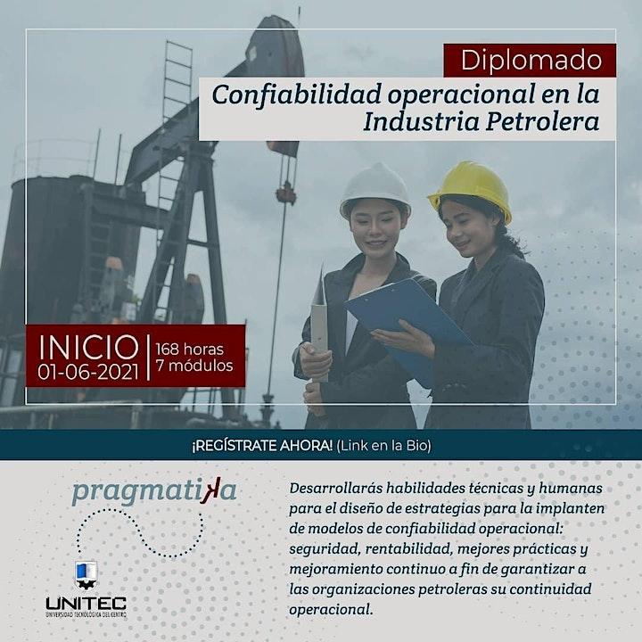 Diplomado | Confiabilidad operacional en la industria petrolera image
