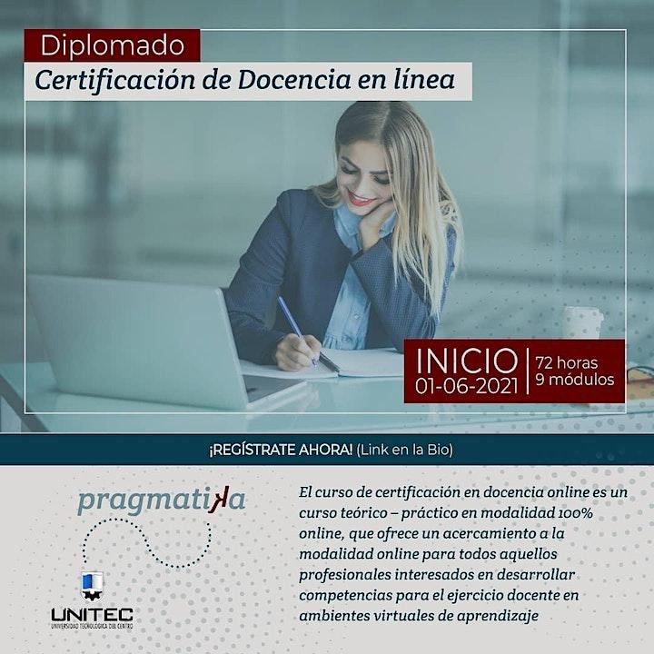 Diplomado | Certificación en docencia online image
