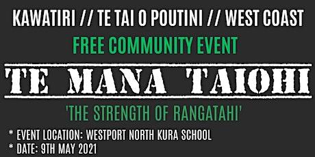 Te Mana Taiohi tickets