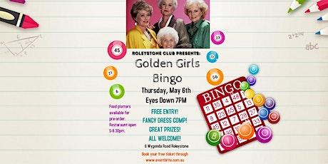 Golden Girls Bingo Night tickets