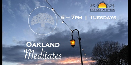 Oakland Meditates tickets