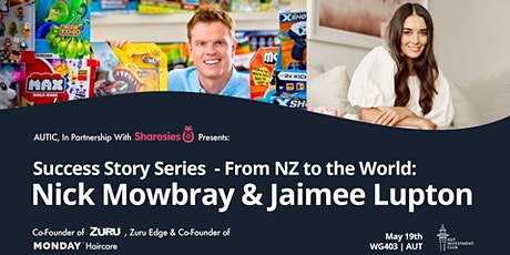 Nick  Mowbray & Jaimee Lupton: From NZ to the world tickets