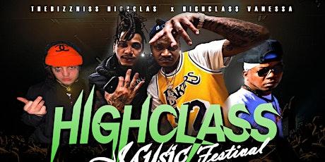 "FIRST ANNUAL ""HIGHCLASS MUSIC FESTIVAL"" tickets"