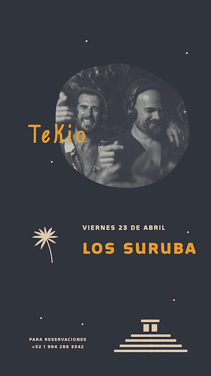 Imagen de COMUNIDAD TEKIO PRESENTA: LOS SUBURA & GUILLE PEREZ