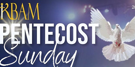 KBAM Pentecost Sunday tickets