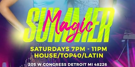 SUMMER MAGIC Saturdays @ Trust Detroit tickets
