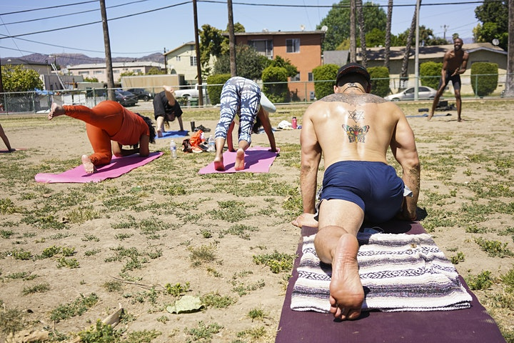 HappyFLOW YOGA in the Park with Brandon Anthony! image