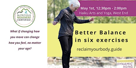 Dynamic Ageing - Better Balance in Six Exercises tickets