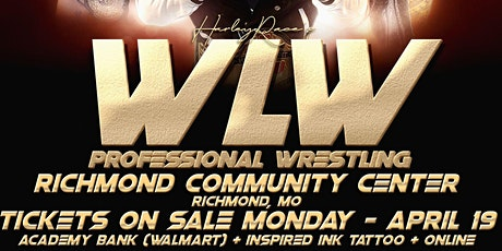 WLW Live Professional Wrestling tickets