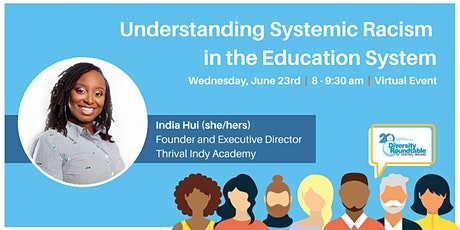 Understanding Systemic Racism in the Education System tickets