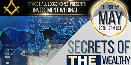 Secrets of the Wealthy: Investment Webinar tickets