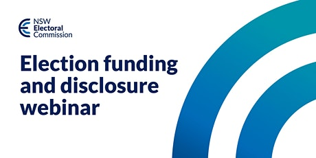 Election Funding and Disclosure Webinar tickets