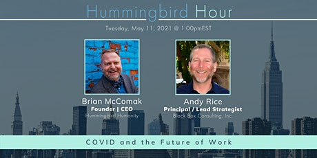 Hummingbird Hour: COVID and the Future of Work tickets
