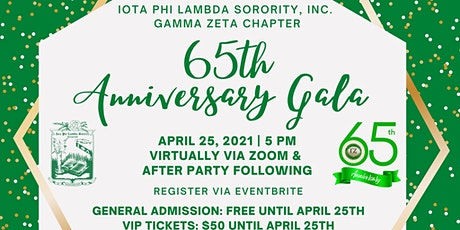 65th Anniversary Gala: The Legacy Continues tickets