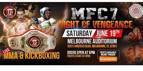 MFC 7: Night Of Vengeance: Live MMA & Kickboxing Showcase tickets