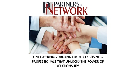 Business Networking - Westchase/Oldsmar/Tampa Area -  Partners In Network tickets