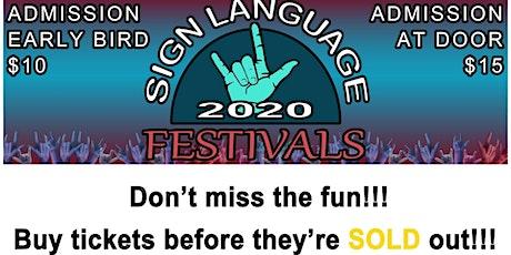 Sign Language Festivals tickets