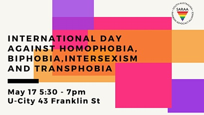 International Day Against Homophobia, Biphobia, Intersexism  & Transphobia tickets