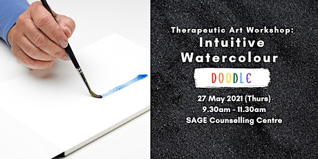 [Therapeutic Art Workshop] Intuitive Watercolour Doodle tickets