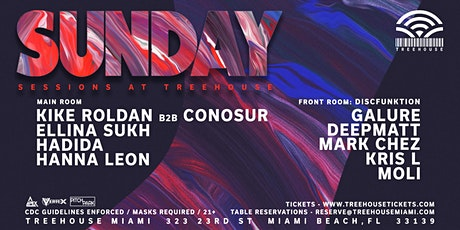 Sunday Sessions @ Treehouse Miami tickets