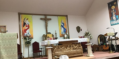 5.30 pm Sunday Evening Mass for the Fourth Sunday of Ester tickets