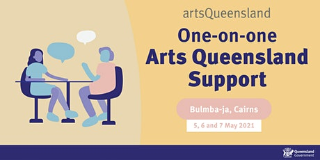 Arts Queensland One-on-one sessions tickets