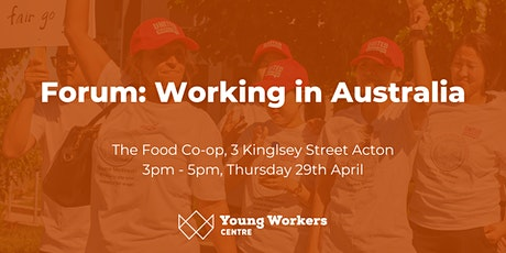 Forum: Working in Australia tickets