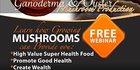 Growing Mushrooms For Food, Health and Wealth Creation tickets