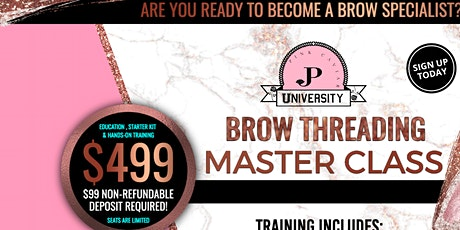 Learn 5 Brow Techniques Master Class $499 tickets