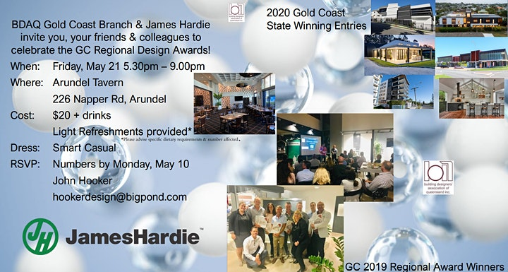 2021 BDAQ + James Hardie Gold Coast Regional Design Awards image